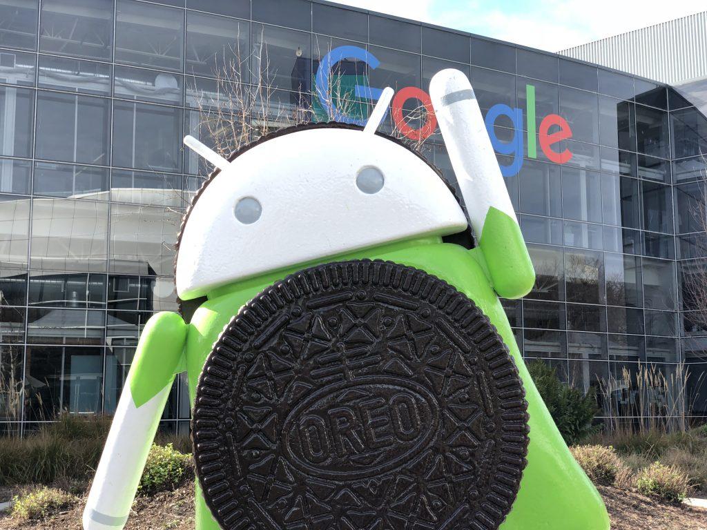 Android 8 Oreo at Google Headquarters